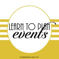 LEARN TO PLAN EVENTS logo