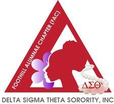 Delta Sigma Theta Sorority, Inc. Foothill Alumnae Chapter logo