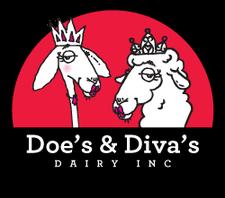 Doe's And Diva's Dairy logo