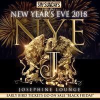 NEW YEARS EVE SUNDAYS @JOSEPHINE LOUNGE