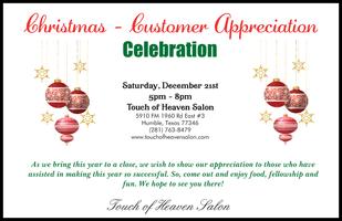 Christmas - Customer Appreciation Celebration