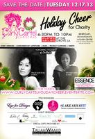 #CurlyCartel HOLIDAY CHEER FOR CHARITY, A Pink Carpet...