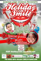 Adrien and Zharia present A holiday Smile