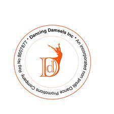 DANCING DAMSELS INC. logo