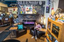 Blue Rooster Cafe logo