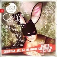 The Bunny Brunch Party inside The W in Hoboken!! John...
