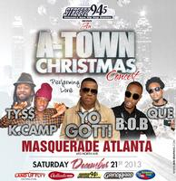 Streetz 94.5 presents An A-TOWN CHRISTMAS CONCERT