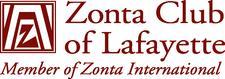 Zonta Club of Lafayette logo