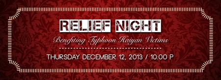 RELIEF NIGHT