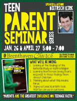 Teen Parent Seminar Series with Speaker & Author Rev....