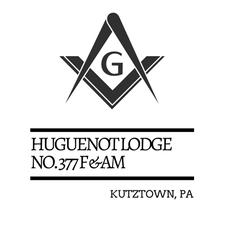 Huguenot Lodge #377 F & A M logo