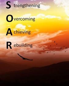 S.O.A.R. First Foundation logo