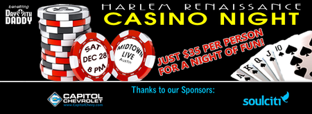 Harlem Renaissance Casino Night & Silent Auction...