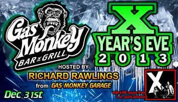 X Years Eve - Gas Monkey New Years Eve Party
