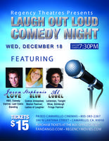 Laugh Out Loud Comedy Night at the Paseo Camarillo Rege...