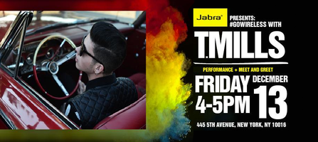 JABRA Presents #GoWireless With T.Mills