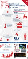 ULP Network's  5th Annual Holiday Party and Toy Drive