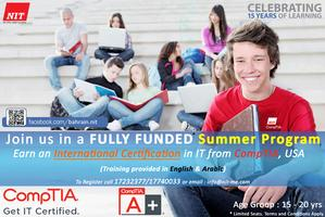 CompTIA Youth IT Certification Summer Program 2012
