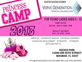 Winter Princess Camp 2013