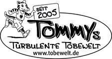Tommys turbulente Tobewelt logo
