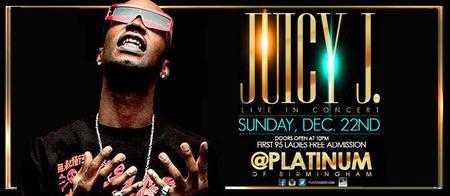 Juicy J Live at Platinum of Birmingham