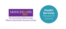 The Health Services Research Centre, Alliance Manchester Business School logo
