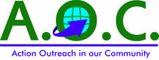 Action Outreach in our Community  logo