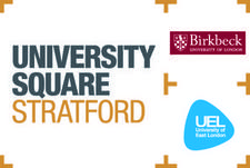 Pre-entry IAG Team, University Square Stratford logo