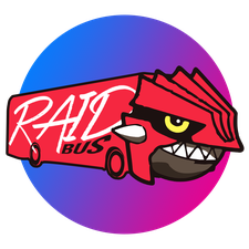The Legendary Raid Bus logo