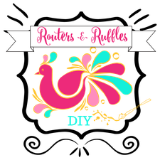 Routers & Ruffles (Amy Pembrook) logo