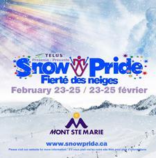 Snow Pride | Fierté des neiges logo