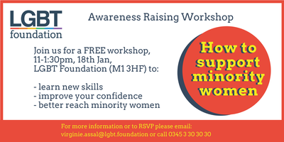 Awareness Raising Workshop: How to support minority...