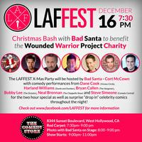 LAFFEST Hosts Special X-Mas Red Carpet Party for...