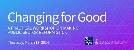 Changing for Good: A Practical Workshop on Making...