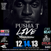 PUSHA T Live In Concert @ The Amp(Tampa) This...