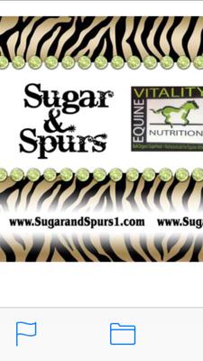 Sugar and Spurs logo