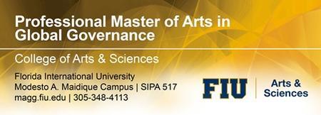 Professional Master In Global Governance Information Se...