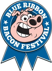Blue Ribbon Bacon Festival & Left Hand Brewery logo
