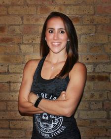 Kristen Contos & Under Armour logo