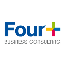 Four+ Business Consulting logo