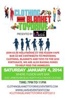 Clothing Blanket Toy Drive