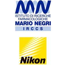 Istituto Mario Negri e Nikon logo