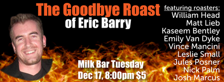 The Goodbye Roast of Eric Barry