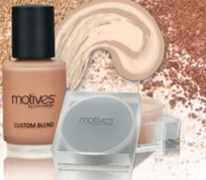 Motives Custom Blend Liquid & Powder Foundation...