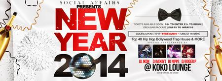 18+ |  SOCIAL AFFAIRS | NEW YEARS EVE