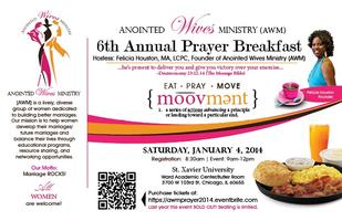 Anointed Wives Ministry (AWM) 6th Annual Prayer Breakfast