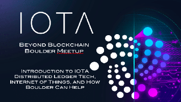 Intro to IOTA Distributed Ledger Tech, Internet of...