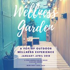 The Wellness Garden by Mind Body Soul Asia x Caelum Greene logo