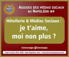 9e Assises des Médias Sociaux au Napoléon - Hôtellerie...