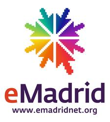 Red eMadrid logo